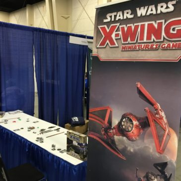 Demoing X-Wing at Salt Lake Gaming Convention