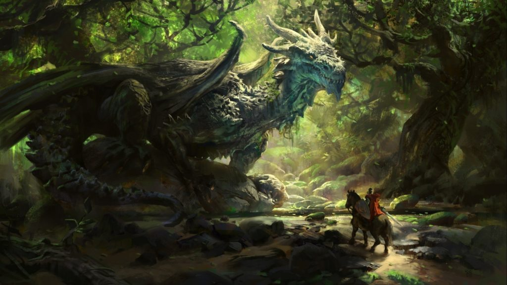 Dragon and Knight 1024x576 How to Write What You Know When Knowing Is Impossible
