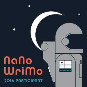 NaNoWriMo Participant 300x300 50K Words in 30 Days: Can I Have More Time, Please?