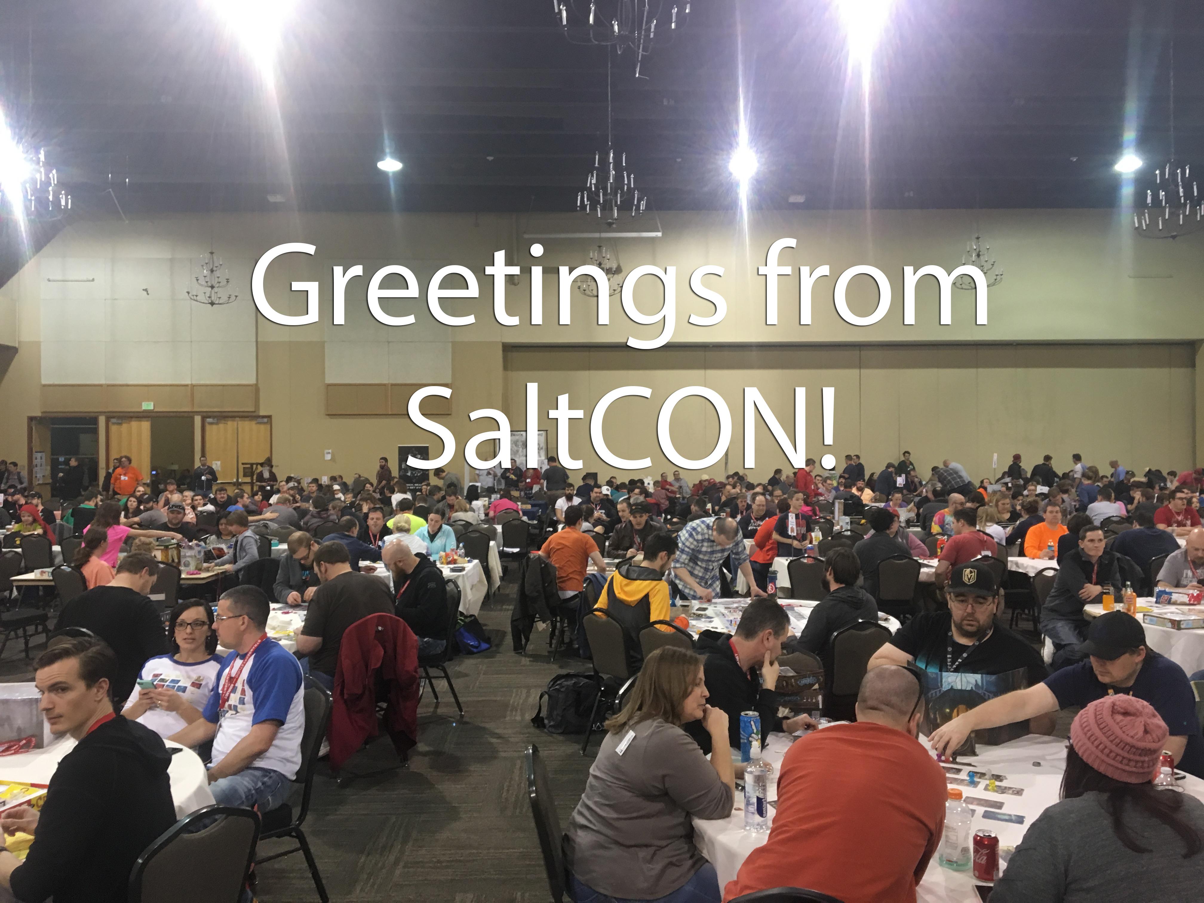SaltCON 2018: A Weekend of Non-Stop Gaming   Benjamin Kocher